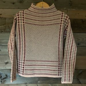 Simons Houndstooth Sweater